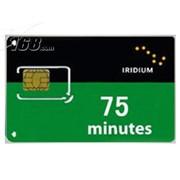 铱星 75分钟国际卡