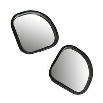 悦卡 小圆镜可调角度 反光镜 盲点镜 倒车镜辅助镜(扇形对装)产品图片主图