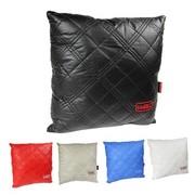 WRC 汽车抱枕 睡枕 超柔软手感 高档纤皮材质 黑色
