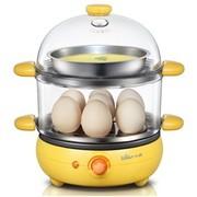 小熊 ZDQ-2191 多功能双层煎烙煮蛋器 14个蛋 (橙黄色)