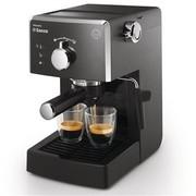 飞利浦 HD8323 Saeco意式手动浓缩咖啡机(全黑色)