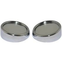 TYPER TR-212 360度可旋转小圆镜1.5寸去盲点 广角 银产品图片主图