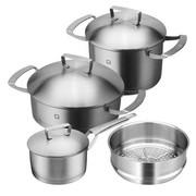 双立人 Zwilling Twin Gourmet 不锈钢锅具促销装40480-005-922