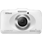 尼康 S31 数码相机 白色(1014万像素 2.7英寸液晶屏 3倍光学变焦)