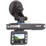 天驰达 661S行车记录仪 碰撞录影保护GPS轨迹 流固一体电子狗功能 内置8G高速卡