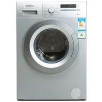 西门子 XQG65-12E268 6.5公斤全自动滚筒洗衣机(银色)产品图片主图