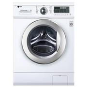 LG WD-N12430D 6公斤全自动滚筒洗衣机(白色)