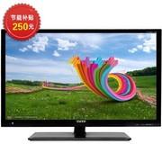 清华同方 LE-32TM1000 32英寸 视频全解码 超窄边超薄高清LED液晶(黑色)
