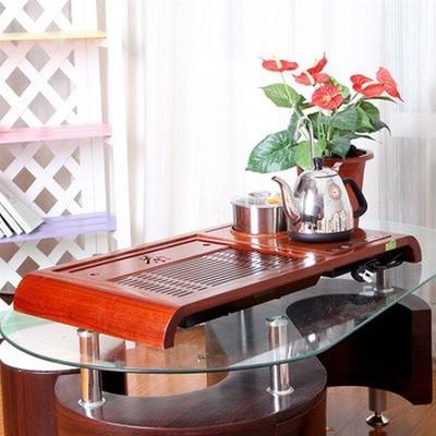 金灶 R-180A 自吸加水 微电脑控温木雕泡茶机产品图片3