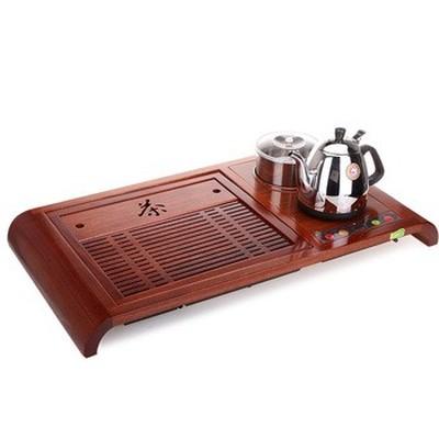 金灶 R-180A 自吸加水 微电脑控温木雕泡茶机产品图片4