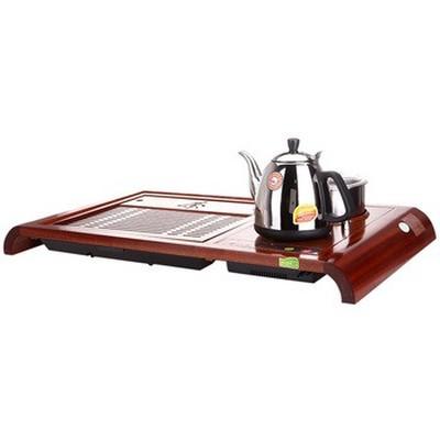 金灶 R-180A 自吸加水 微电脑控温木雕泡茶机产品图片5