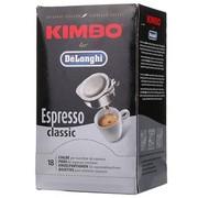 德龙 意大利(DeLonghi) 金堡(KIMBO) 经典拼配意式浓缩咖啡粉包/易理包(含18袋)