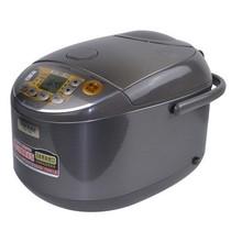 象印 NS-YSH18C-XJ 微电脑多功能电饭煲 日本标准1.8L/国内标准5L 不锈钢棕色产品图片主图