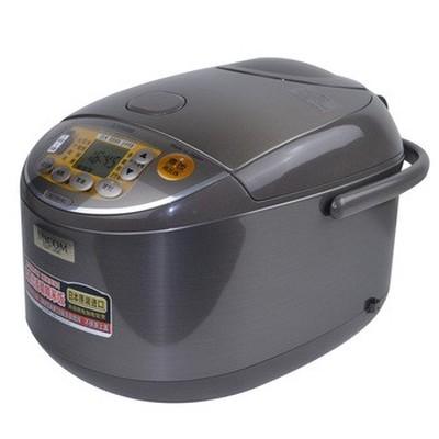 象印 NS-YSH18C-XJ 微电脑多功能电饭煲 日本标准1.8L/国内标准5L 不锈钢棕色产品图片1