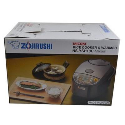 象印 NS-YSH18C-XJ 微电脑多功能电饭煲 日本标准1.8L/国内标准5L 不锈钢棕色产品图片5