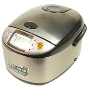 象印 NS-TSH18C 微电脑多功能电饭煲 日本标准1.8L/国内标准5L 不锈钢棕色