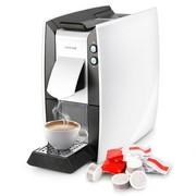北欧欧慕 胶囊咖啡机 首款意式/美式双口味功能 NKF101 绢雅白