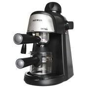 柏翠 家用意式高压蒸汽半自动咖啡机 可打奶泡 PE3800(金属银)