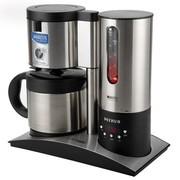 柏翠 家用不锈钢滴漏式半自动咖啡机 过滤功能 双层真空咖啡壶 PE3600