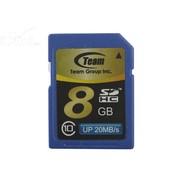 十铨 SDHC卡 Class10(8GB)