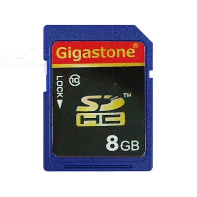 Gigastone SDHC卡 Class10(8GB)产品图片1