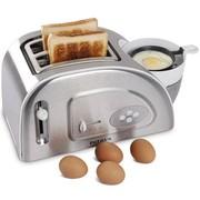 柏翠 不锈钢多士炉 烤面包机 面包机好拍档 煮蛋 蒸蛋 PE5900