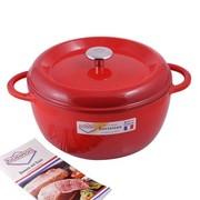 其他 德国厨尊宝kuchenprofi 圆型铸铁锅 煲锅红色26cm