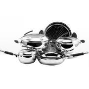 其他 三A厨具304不锈钢套装锅具(汤锅 奶锅 蒸锅 煎锅)礼品