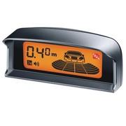 贝奥斯(PLC) 贝奥斯 汽车倒车雷达四探头2.5寸LCD液晶屏可选择探头颜色 真人语音警示倒车雷达 橘屏558