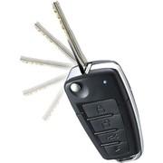其他 贝奥斯  单向弹匙三合一专车专用 带4中控锁采原车电路  汽车电子防盗报警器  3C认证