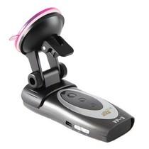 其他 【灵灵狗】超薄超高感4GS跳频雷达流动固定测速语音提示电子狗 VP-3 灰色产品图片主图