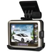 车德克 DK-4100 720P高清120度广角2寸屏幕带HDMI接口迷你金型行车记录仪(赠送8G内存卡)