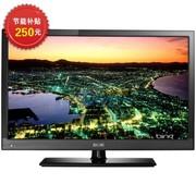京东方 LE-32Y611 32英寸 硬屏超窄边框超薄侧入式高清LED液晶电视(黑色)