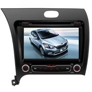 路特仕 85333A DVD导航一体机 起亚K3专用3D实景地图固定测速提醒7英寸高清数字屏