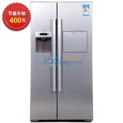 博世 BCD-564W(KAD63V40TI) 564升对开门冰箱(银色)