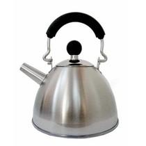 贝高福(BergHOFF) APIDES外贸出口不锈钢小茶壶 烧水壶 本色水壶0.9L带网HJW(4)1044S-B0.9L产品图片主图
