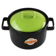 雅诚德 3L/3000ml御康瓷煲 干烧不裂 陶瓷炖煲 汤煲 砂锅 汤锅 绿色款