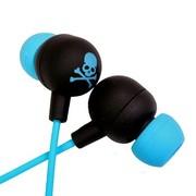 其他 星星耳机(MIX-STYLE)入耳式耳机 黑底骷髅(5款颜色可选) 蓝骷髅