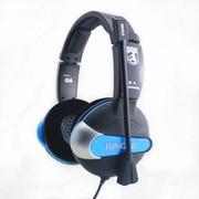 宾果 G6 7.1声道游戏耳机 蓝色