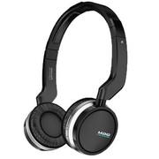 魅格 PC502 头戴式2.4GHz无线耳机+麦克风 可折叠的音乐耳机 黑色