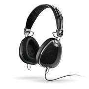 斯酷凯蒂 斯酷凯蒂 (SKULLCANDY) AVIATOR S6AVFM-156 带麦克风头戴式 骷髅头耳机  黑色