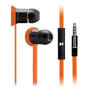 玛雅 E17 手机耳机 入耳式 线控 带话筒 橙色