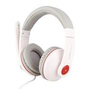 海威特 HV-HP610 时尚音乐耳机 立体声耳机 头戴式电脑语音耳机 白色