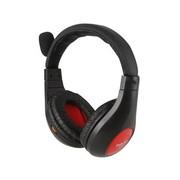 海威特 HV-H600 时尚音乐耳机 立体声耳机 头戴式电脑语音耳机 黑色