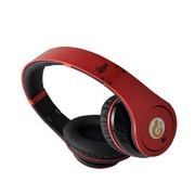 赛尔贝尔  G04-201 凯歌 降噪立体声耳机有线音乐耳机 带麦 红色