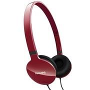 飞利浦 SHL1700 RD 超轻便 头戴式 耳机 红色