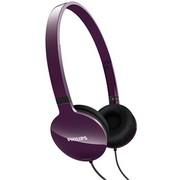 飞利浦 SHL1700 PP 超轻便 头戴式 耳机 紫色