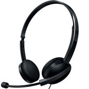 飞利浦 SHM3550 /97 轻便舒适耳麦 耳麦 黑色