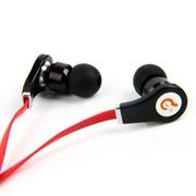 赛尔贝尔  G03-003 柯莉面条入耳式音乐耳机 超强低音效果 红色