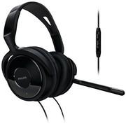 飞利浦 SHM6500 头戴式 电脑 耳麦 黑色